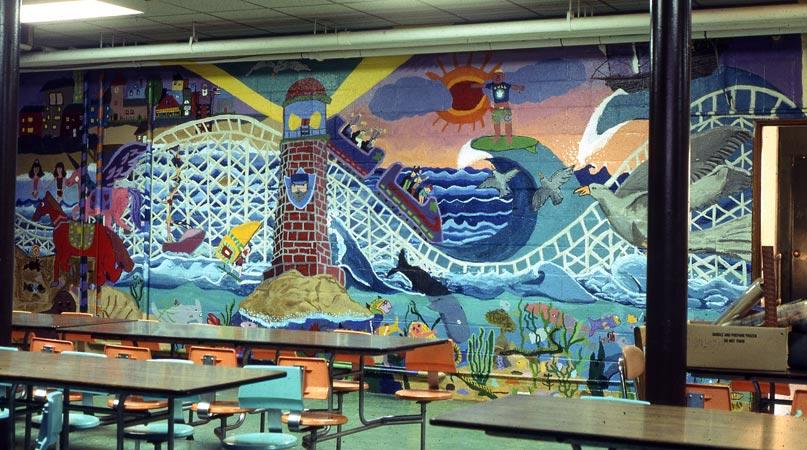 David fichter student mural portfolio boston murals for Education mural
